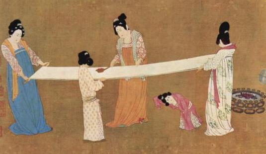 Изображение туалетной бумаги в древнем Китае