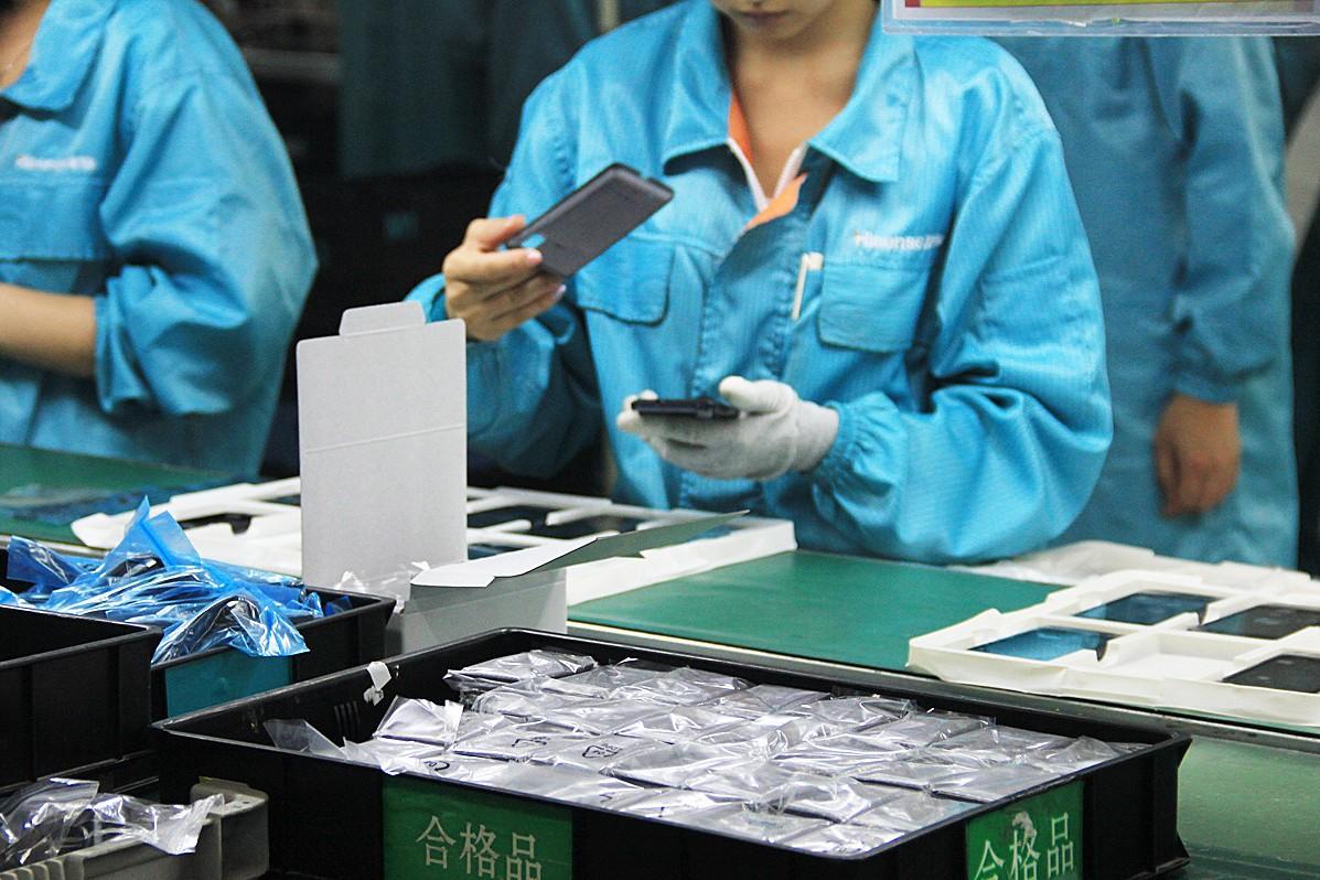Китайское производство телефонов