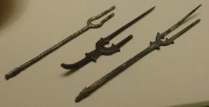 Древняя китайская вилка.