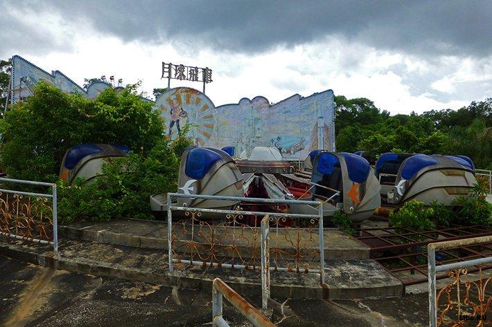 Заброшенный Дисней-Лэнд в Шэньчжэне.