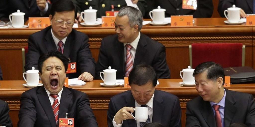 Депутаты на церемонии открытия Национального Конгресса Коммунистической Партии Китая, Пекин, ноябрь 2012. Источник - Reuters