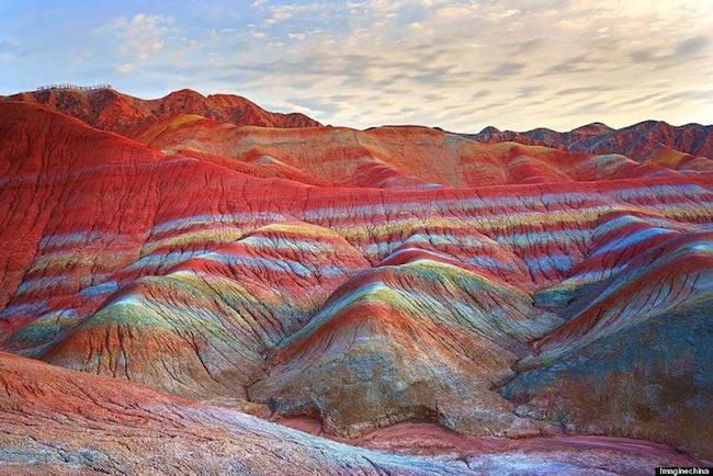 Марсианские ландшафты Китая