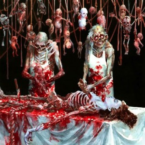 "Обложка альбома ""Butchered at Birth"", Cannibal Corpse"