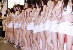 Chinese girls lineup