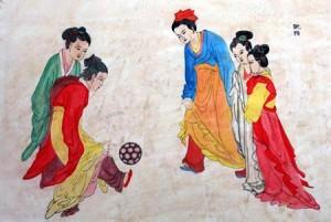 Китайцы играют в цуцзюй