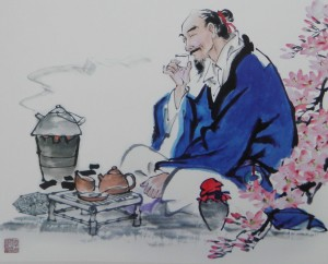 Средневековая чайная церемония