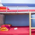 Так выглядят кровати в хостеле Check Inn HK