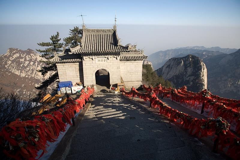 пагода на горе Хуашань