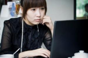 Китаянка в чате. Источник фото - massmediumblog.com