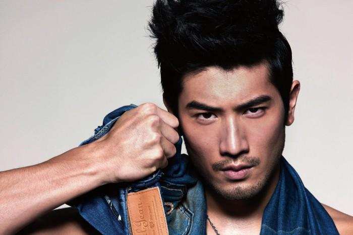 Китайская модель Godfrey Gao. Источник фото - www.pinterest.com