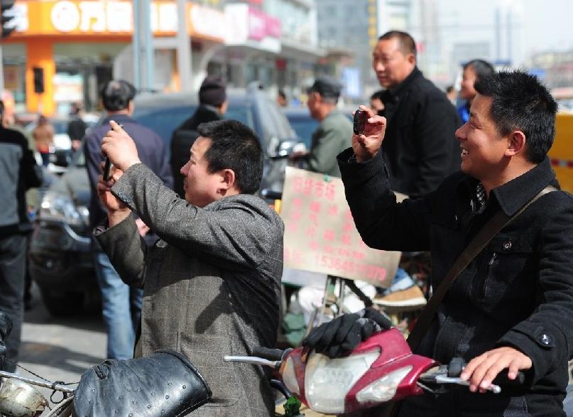 На незамысловатый пиар отреагировали все горожане. Источник: news.xinhuanet.com
