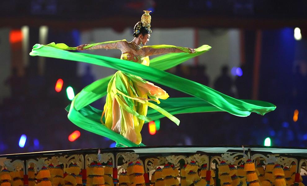 Церемония открытия Олимпиады–2008 в Пекине