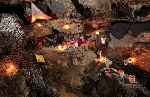Палаточный лагерь — практически семейный отдых. Источник: www.viralands.com