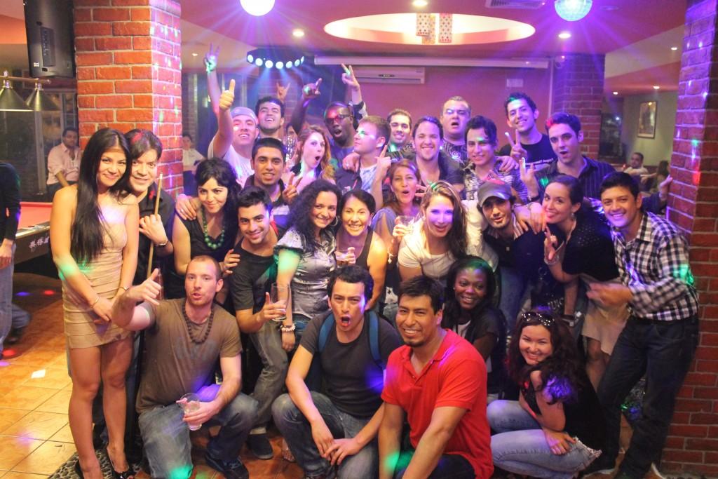 Сальса-вечеринка в ресторане Tekilа