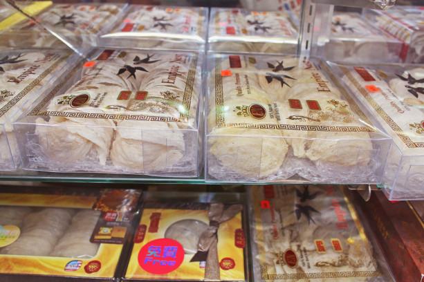 Съедобное ласточкино гнездо. Источник: intothegloss.com