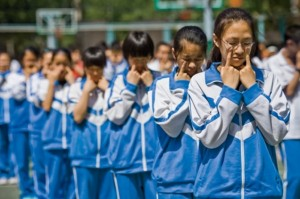 Школьная форма в китайских школах бывает разной. Источник: fashions-cloud.com