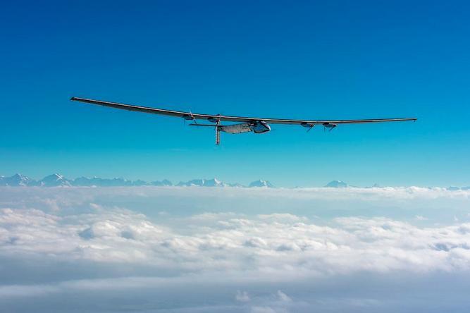 Solar Impulse. Источник: twitter.com
