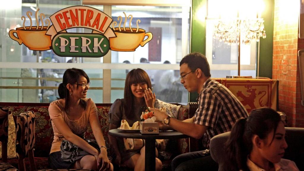 В пекинском Central Perk очень уютно  Источник www.npr.org
