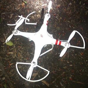Тот самый дрон Phantom на лужайке белого дома Источник: www.nytimes.com