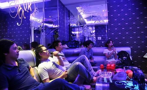 Бар KTV в Пекине
