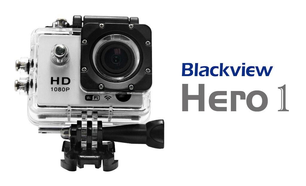 Экшн-камер Blackview Hero 1 в водонепроницаемом кейсе