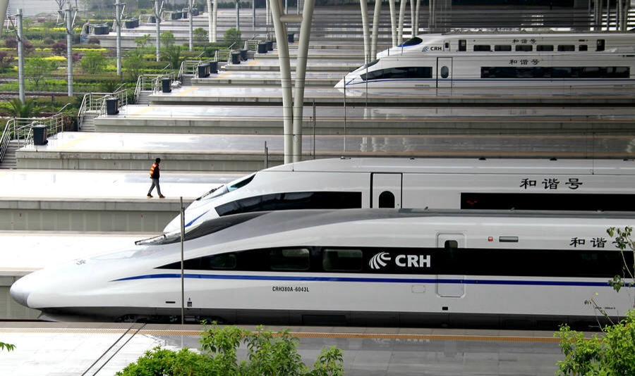 Cкоростной поезд CRH Шанхай-Пекин Фото: https://photocdn.com
