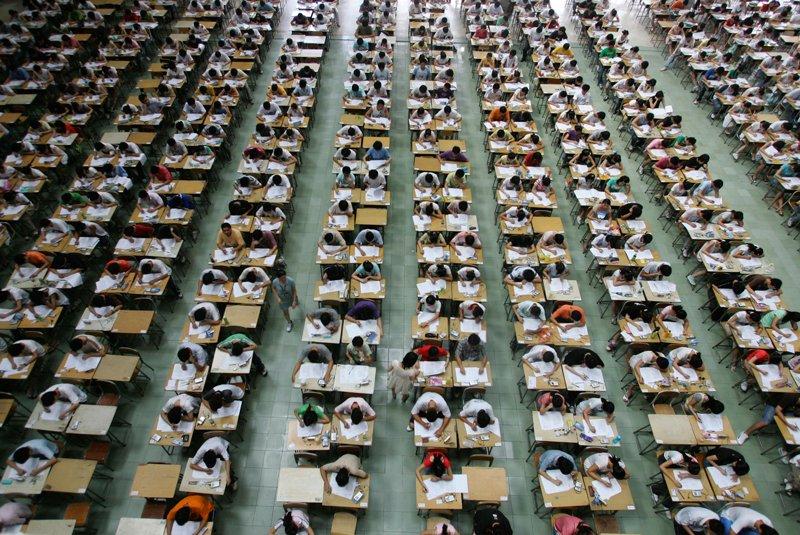Экзамен по математике в Китае