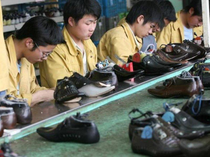 Обувная фабрика в Китае. Источник: https://www.lettera43.it