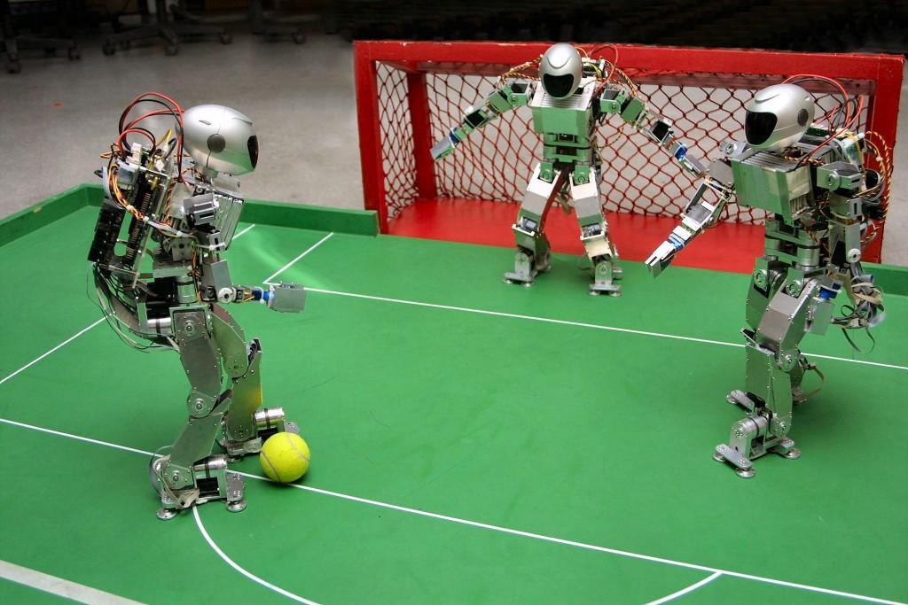 футбольный матч среди роботов, Китай