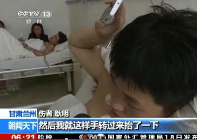 Гэн Мин все еще находится в больнице. Источник: shanghaiist.com