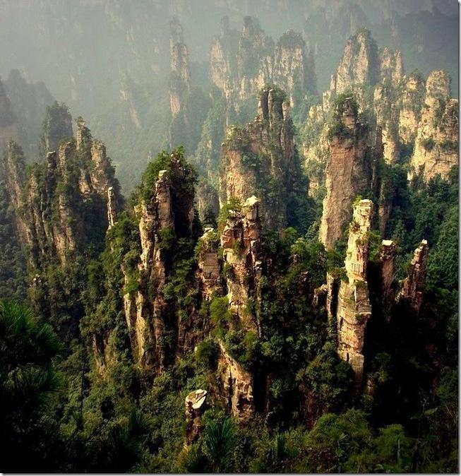 Горы Хуаншань. Источник фото: lifeglobe.net