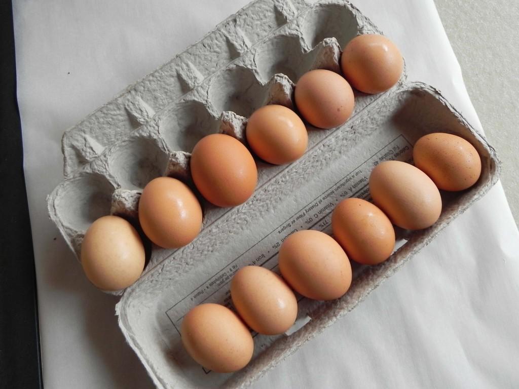 подделка яиц в Китае