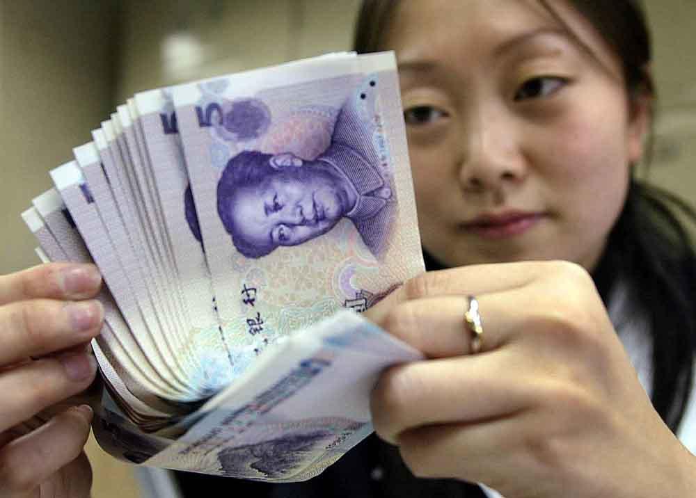 Китайские деньги. Источник: www.newworldmayfair.com