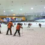 Лыжные горки в Шанхае