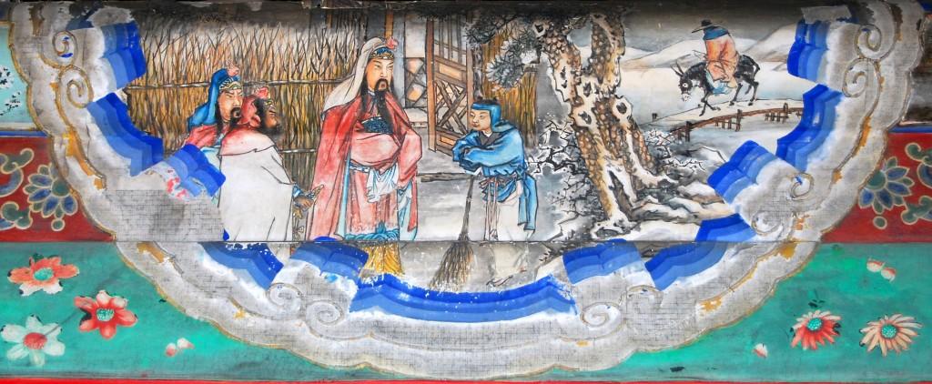 """Одна из иллюстраций к """"Троецарствию"""". Источник: www.chinesebookshop.com"""