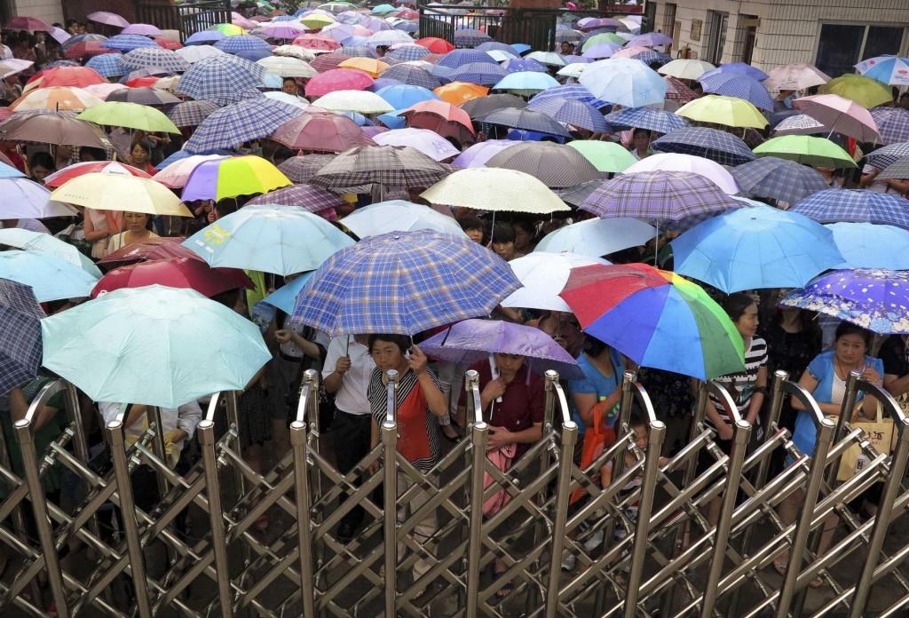Открыть все зонты! Источник: www.manchestereveningnews.co.uk