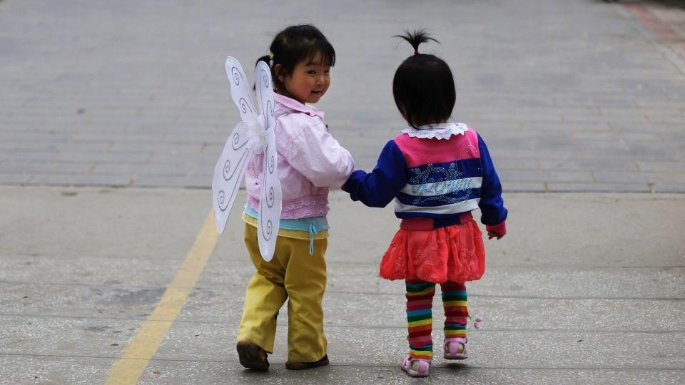 Две китайские подружки. Источник: telegraf.by