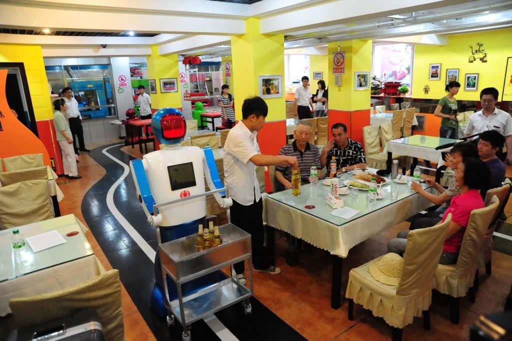 The Robot Restaurant в Харбине