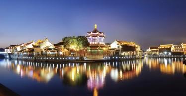Сад Сучжоу в ночи. Источник: travelworldnews.com