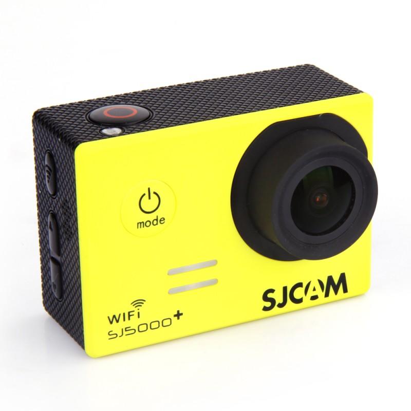 Экшн-камера SJCAM 5000 PLUS в желтом цвете
