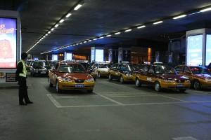Такси в аэропорту Пекина. Источник: beijing.roadplanner.ru