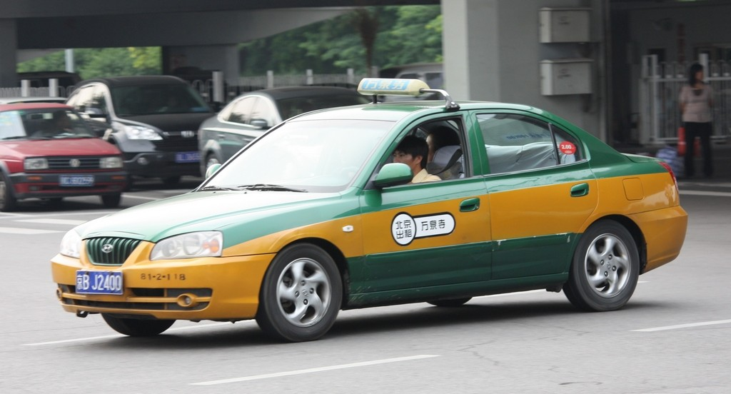 Официальное пекинское такси