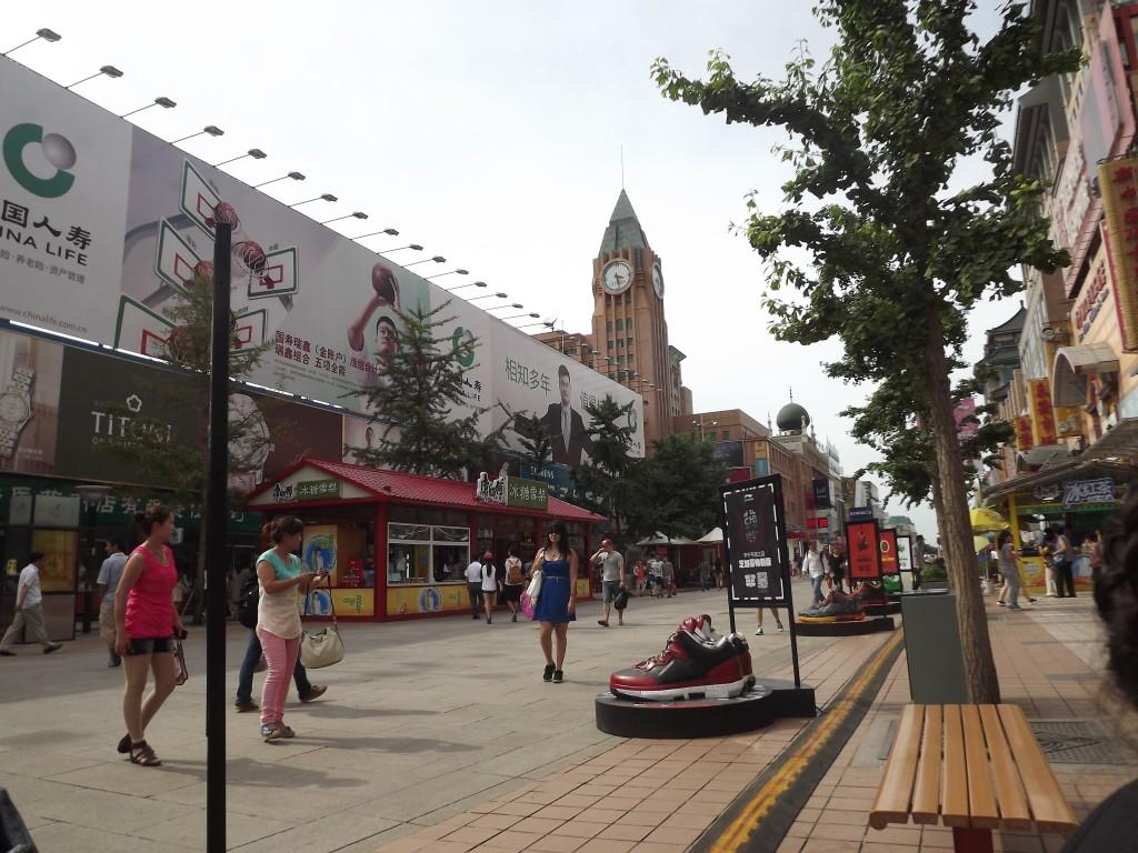 Улица Wangfujing