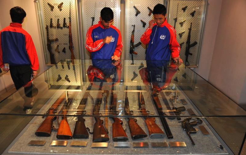 В музее полиции Пекина представлено разнообразное оружие с глубокой древности и до наших дней. Источник: thebeijinger.com