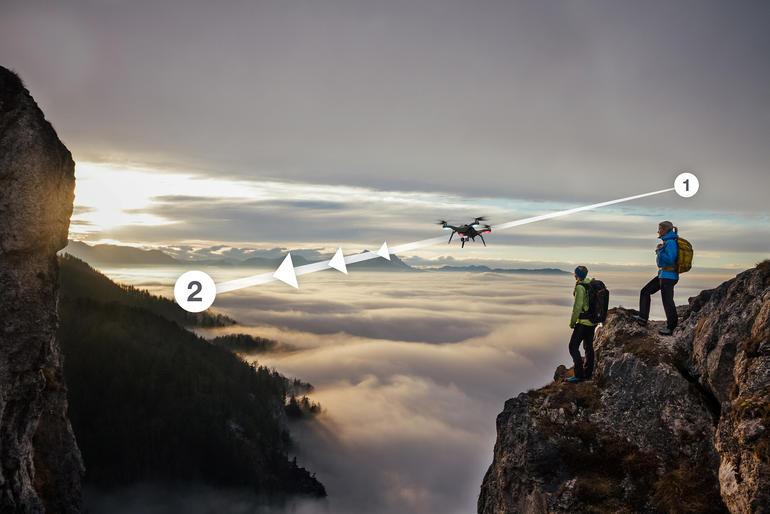 Возможности дрона Solo компании 3D Robotics Источник: www.cnet.com