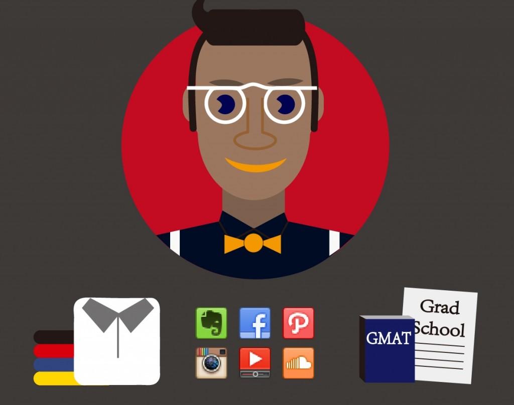 Яппи: рубашка-поло, активное присутствие в социальных медиа, сертификат бизнесс-школы.