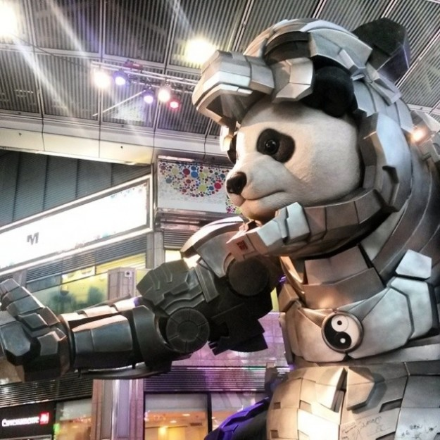 """""""Железная панда"""" - это нечто. Во всяком случае, так пишут те, кто видел ее вживую. Источник: robot6.comicbookresources.com"""