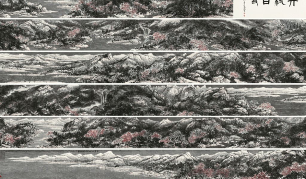 Цуй Жучжо, «Пейзаж в снегу» (2006)