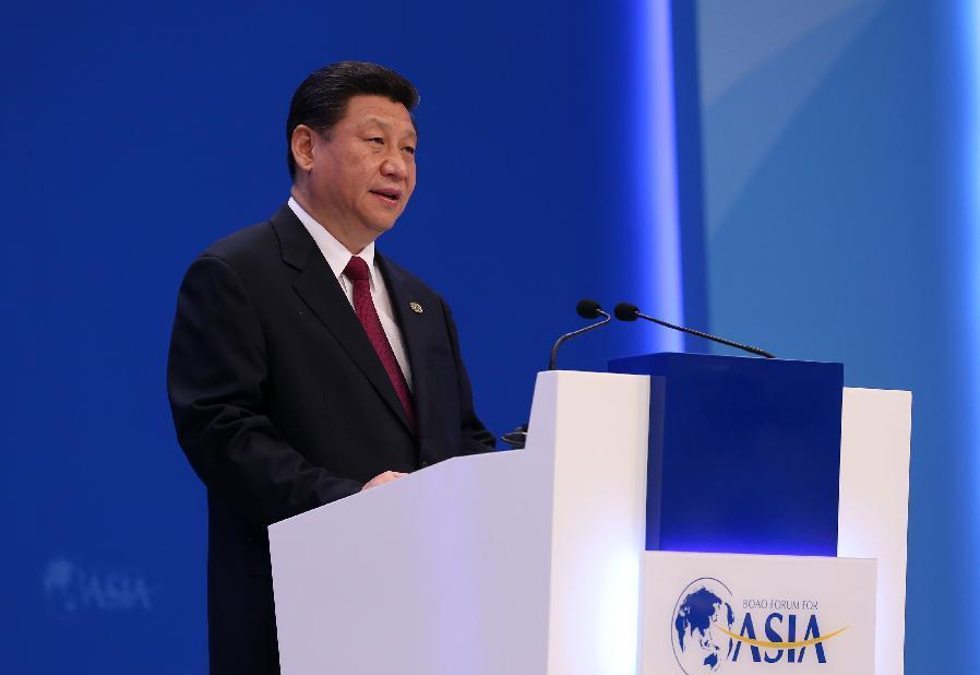 Выступление Си Цзиньпина на Боаоском азиатском форуме – 2015