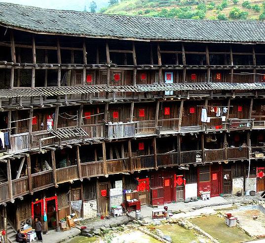 Дом под одной крышей в Китае